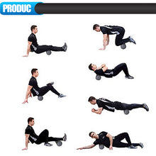 Load image into Gallery viewer, Black 30/45/60cm Foam Roller