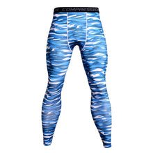Load image into Gallery viewer, Men Camouflage Compression Pants