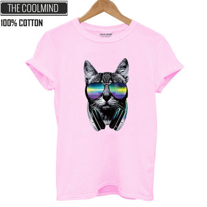 Cool Cat Tumblr T-shirt