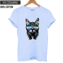 Load image into Gallery viewer, Cool Cat Tumblr T-shirt