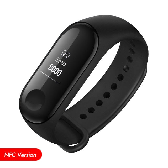 Smart Fitness Wristband with Touch Screen