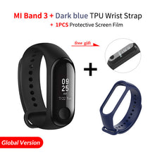 Load image into Gallery viewer, Origina Xiaomi Mi Band 3 Smart Wristband Fitness Bracelet MiBand Band 3 Big Touch Screen OLED Message Heart Rate Time Smartband