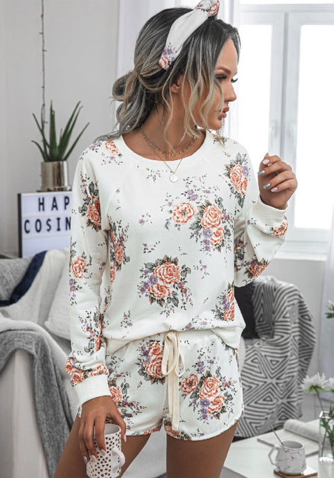 Floral Lounge Wear Set