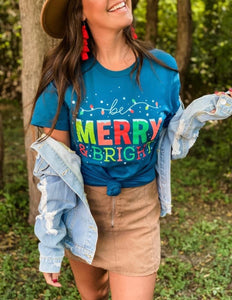 Merry & Bright Holiday Shirt