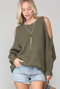 Alessandra Open Arm Sweater