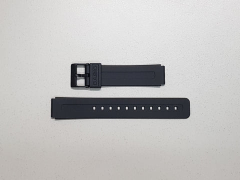 MATTE BLACK RESIN BAND (10108579) - STANDARD CASIO