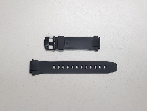 MATTE BLACK RESIN BAND (10179406) - STANDARD CASIO