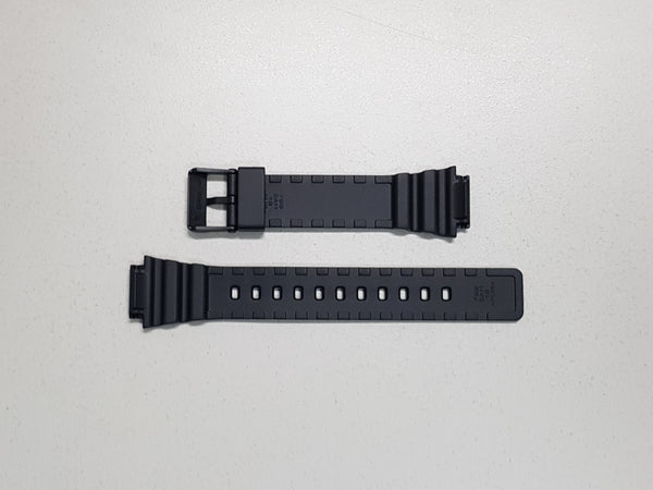 MATTE BLACK RESIN BAND (10393907) - STANDARD CASIO