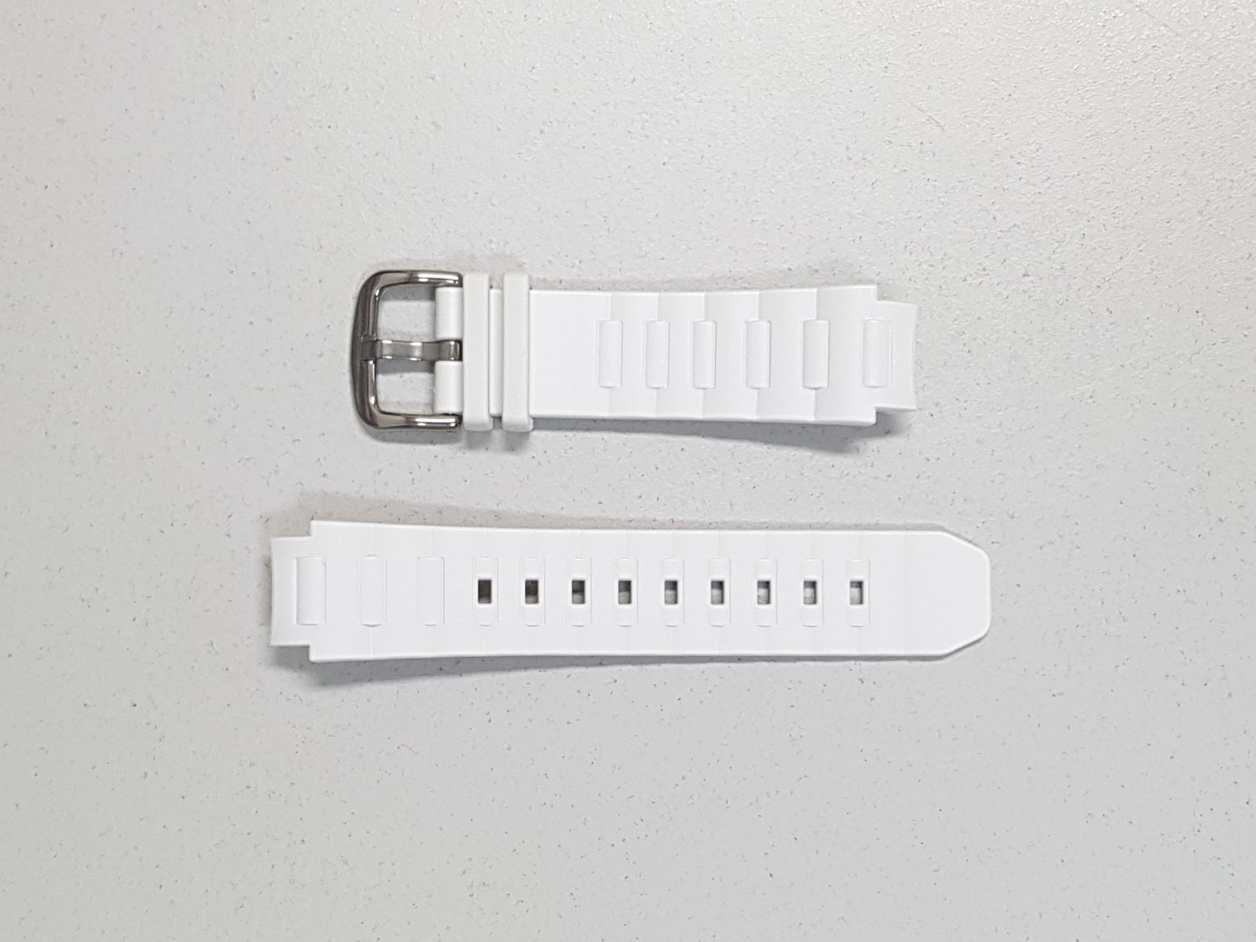 MATTE WHITE RESIN BAND (10408303) - BABY-G