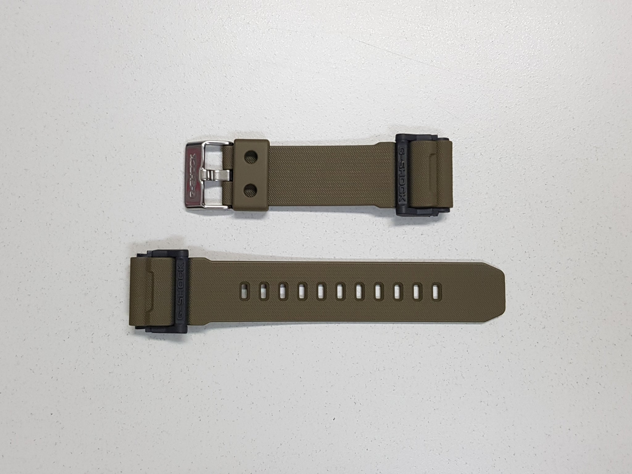 MATTE KHAKI BROWN RESIN BAND (10475780) - G-SHOCK