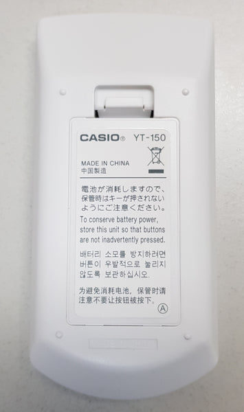 YT150 PROJECTOR REMOTE CONTROLLER (10522119) - CASIO PROJECTOR