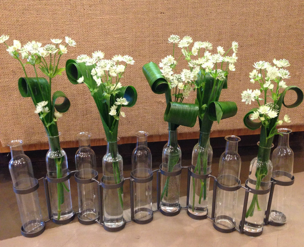 10 Bottle  Vase Set