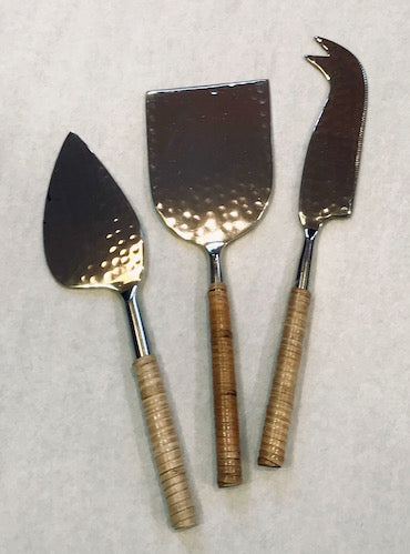 Hammered Cheese Set