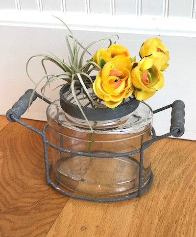 Rustic Jar Vase — Single