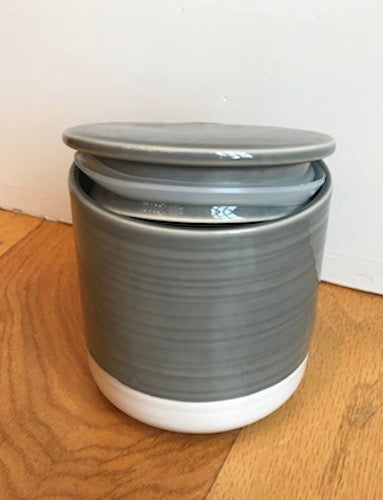 Stoneware Container Medium
