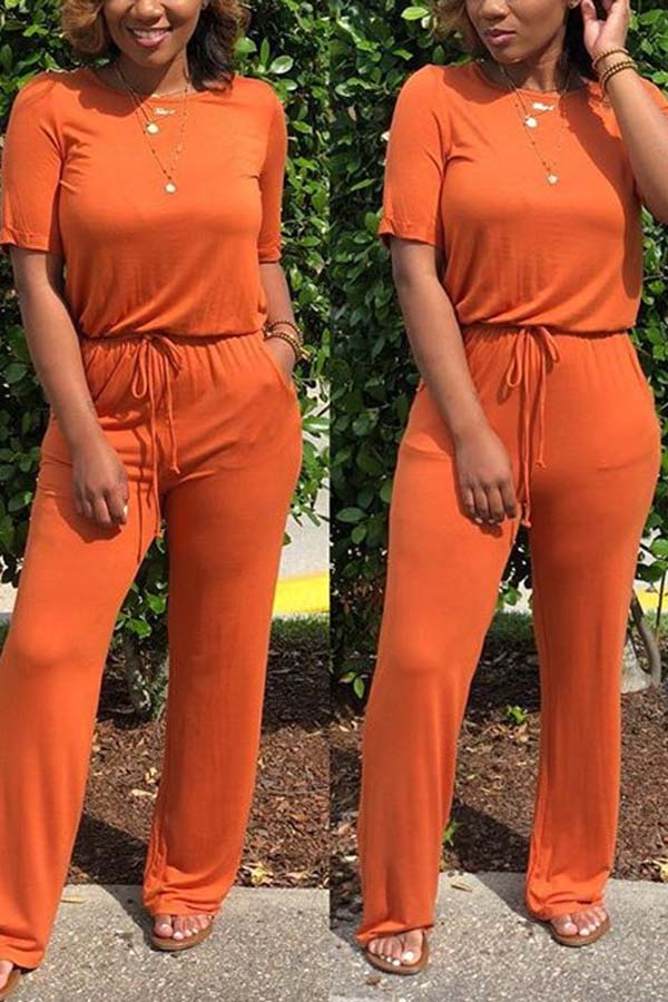 Laid Back Loose Jumpsuit