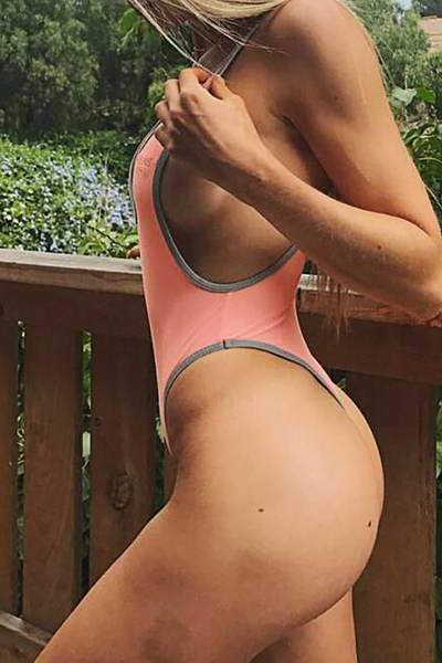 Low Front & Back Swimsuit