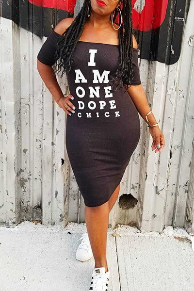 One Dope Chick Dress