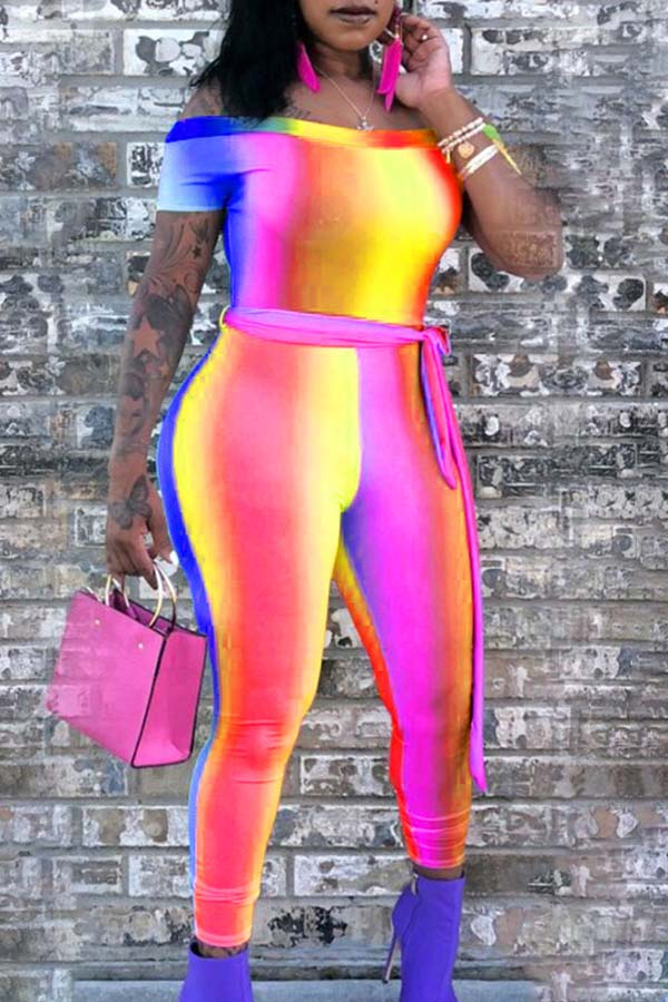 Neon Fitted Catsuit