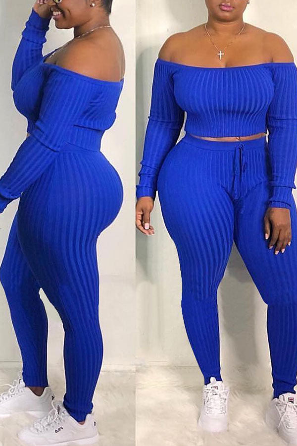 Ribbed Two Piece Set