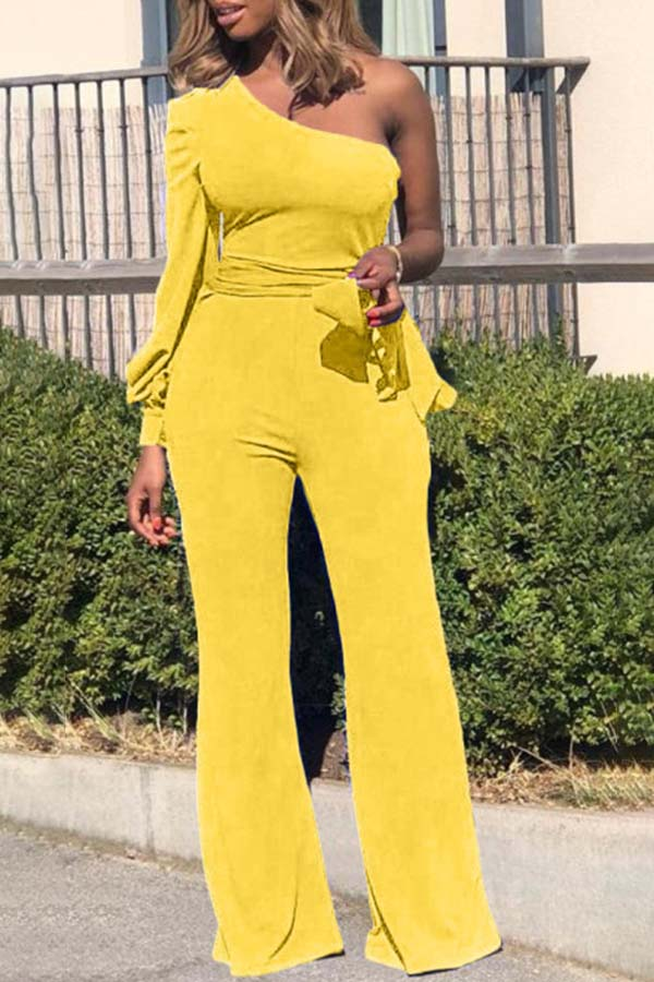 One Puff Sleeve Jumpsuit