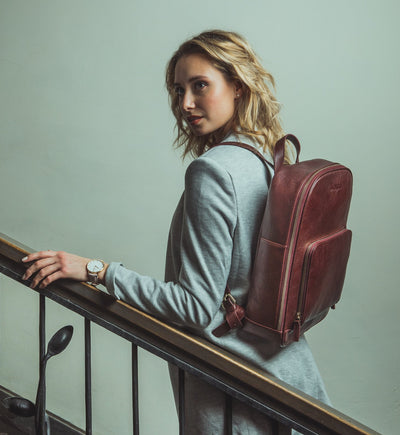 Backpack Tia - Burgundy