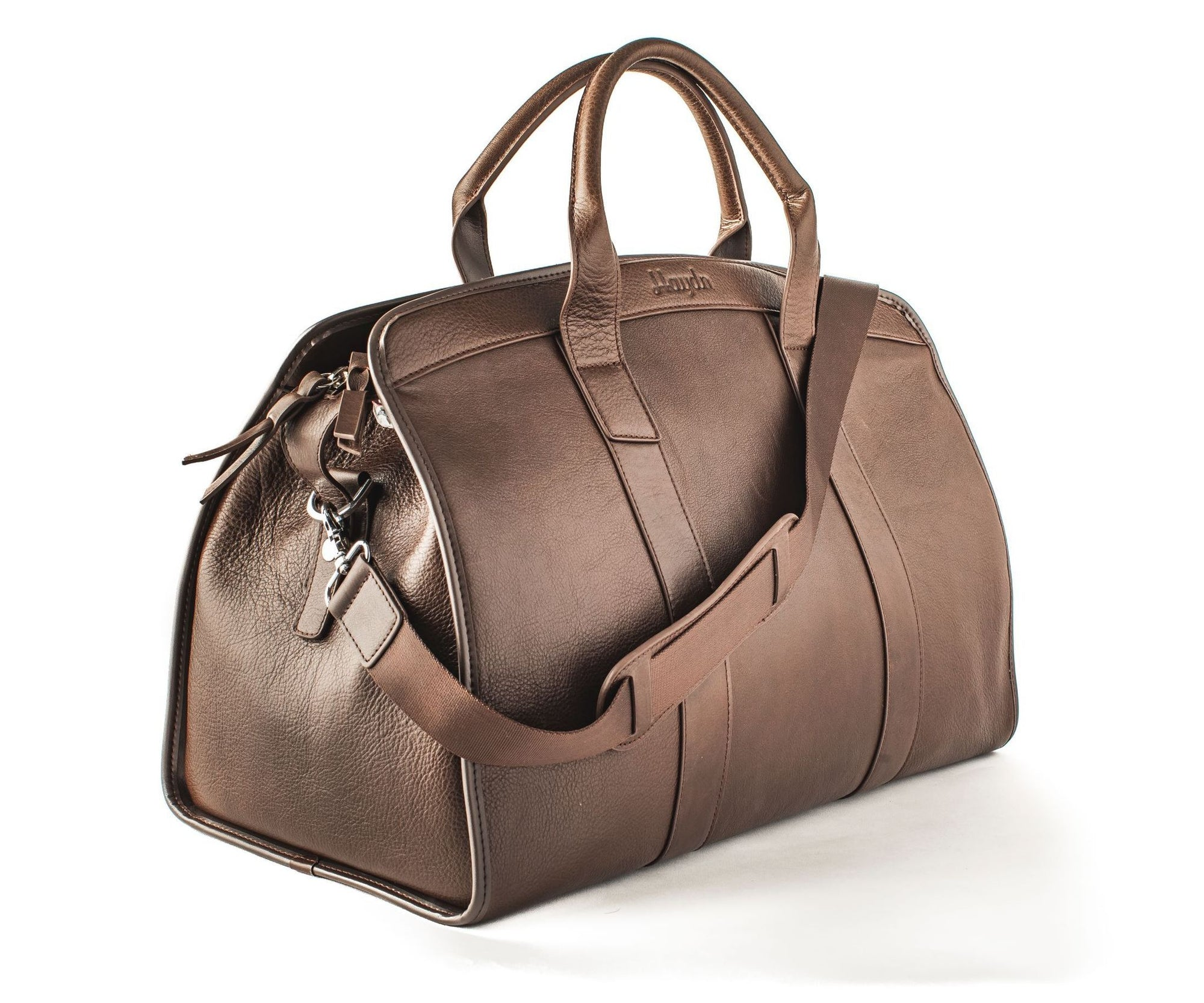 Duffle bag Ely - Chocolate Brown