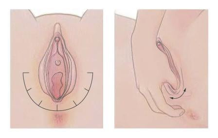 Massage Is Another Great Way To Relax Your Muscles So That The Egg Can Get Out Naturally All You Need To Do Is Massage The Perineum Area And Your Vaginal