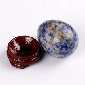 Natural Sodalite Yoni Egg