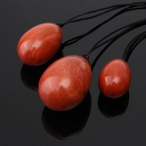 Red Jade Gemstone Yoni Eggs