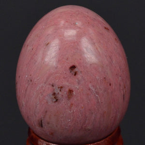 Natural Pink Rhodonite Yoni Egg
