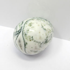 Natural Moss Agate Yoni Egg