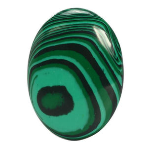 Malachite Quartz Gemstone Egg