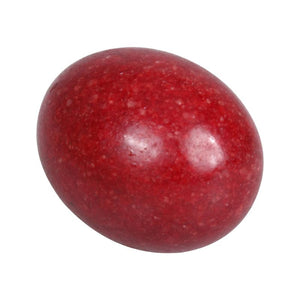 Undrilled Red Ruby Yoni Egg