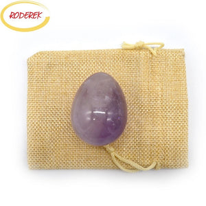 Large Undrilled Amethyst Yoni Egg