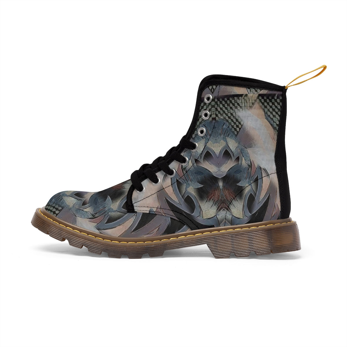 Men's Martin Boots - None have ever | A Pattern Designed by @remlor - Remlor Art