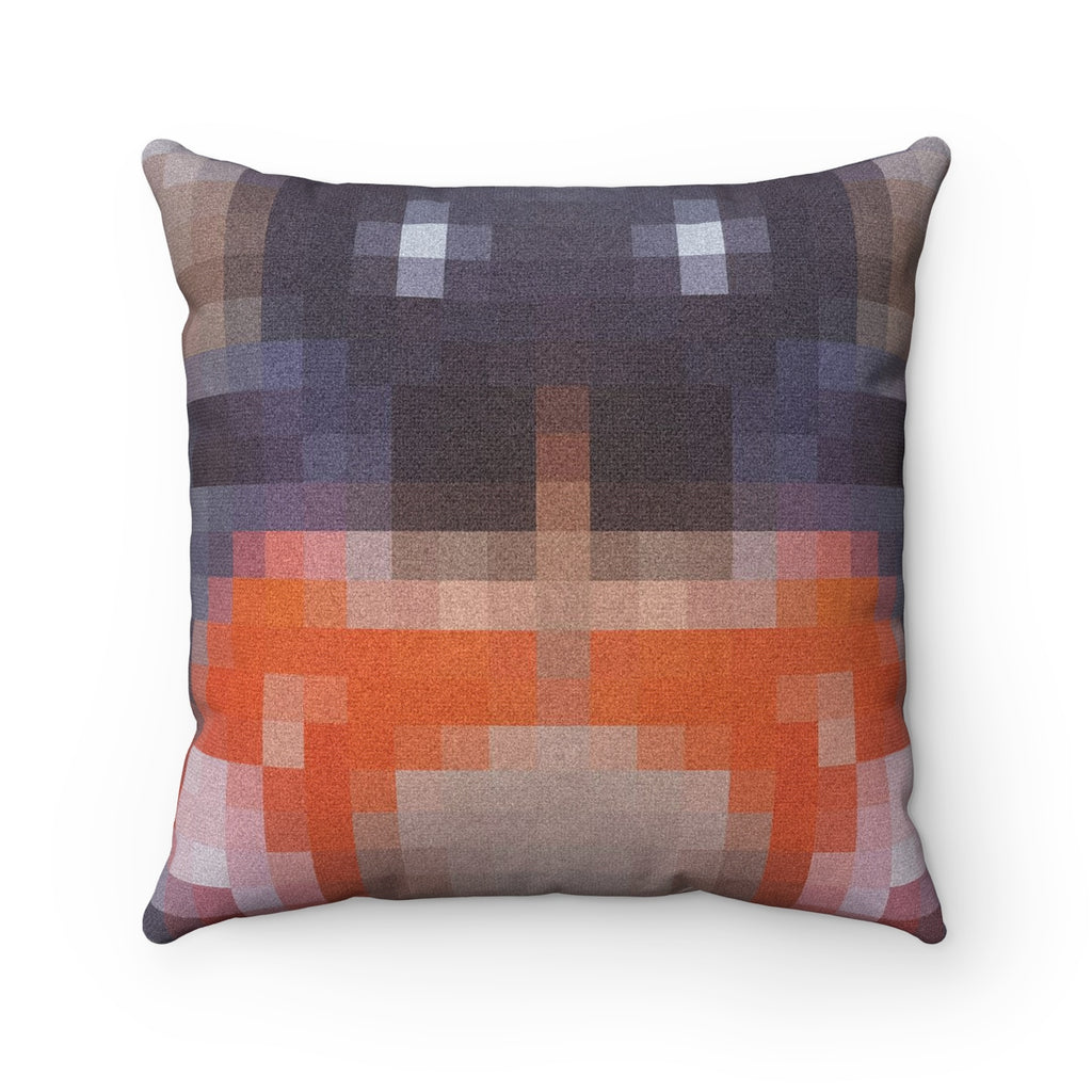 Spun Polyester Square Pillow -The Hidden | Designed by @remlor - Remlor Art