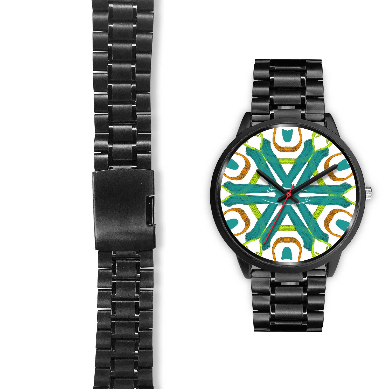 Dominion Handled Lightly - Black Metal Watch - By @remlor - Remlor Art
