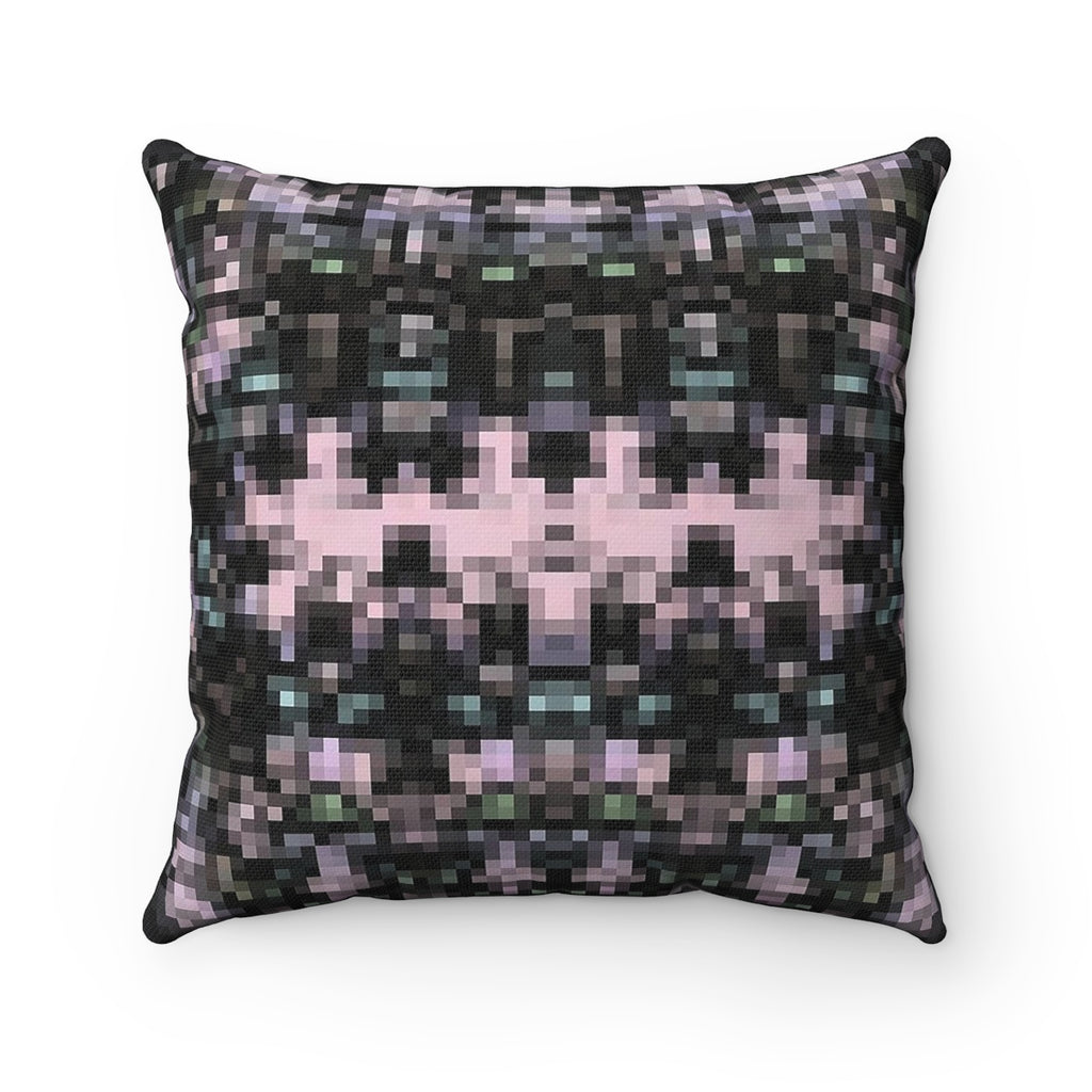 Spun Polyester Square Pillow - DropofpiX | Designed by @remlor - Remlor Art