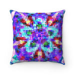 Spun Polyester Square Pillow -Splattered StarZz | Designed by @remlor - Remlor Art
