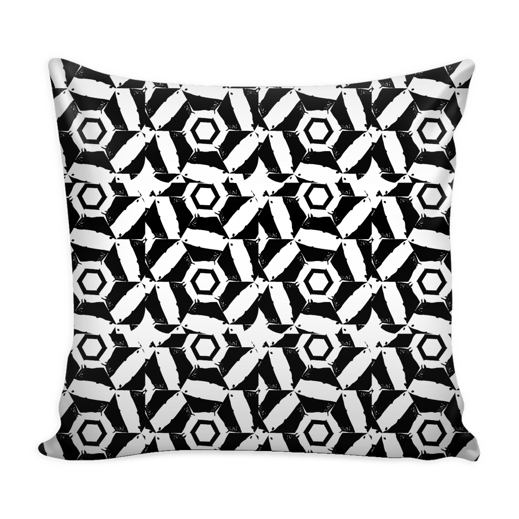 A Million Watts of Sound - Pillow Cover - Remlor Art