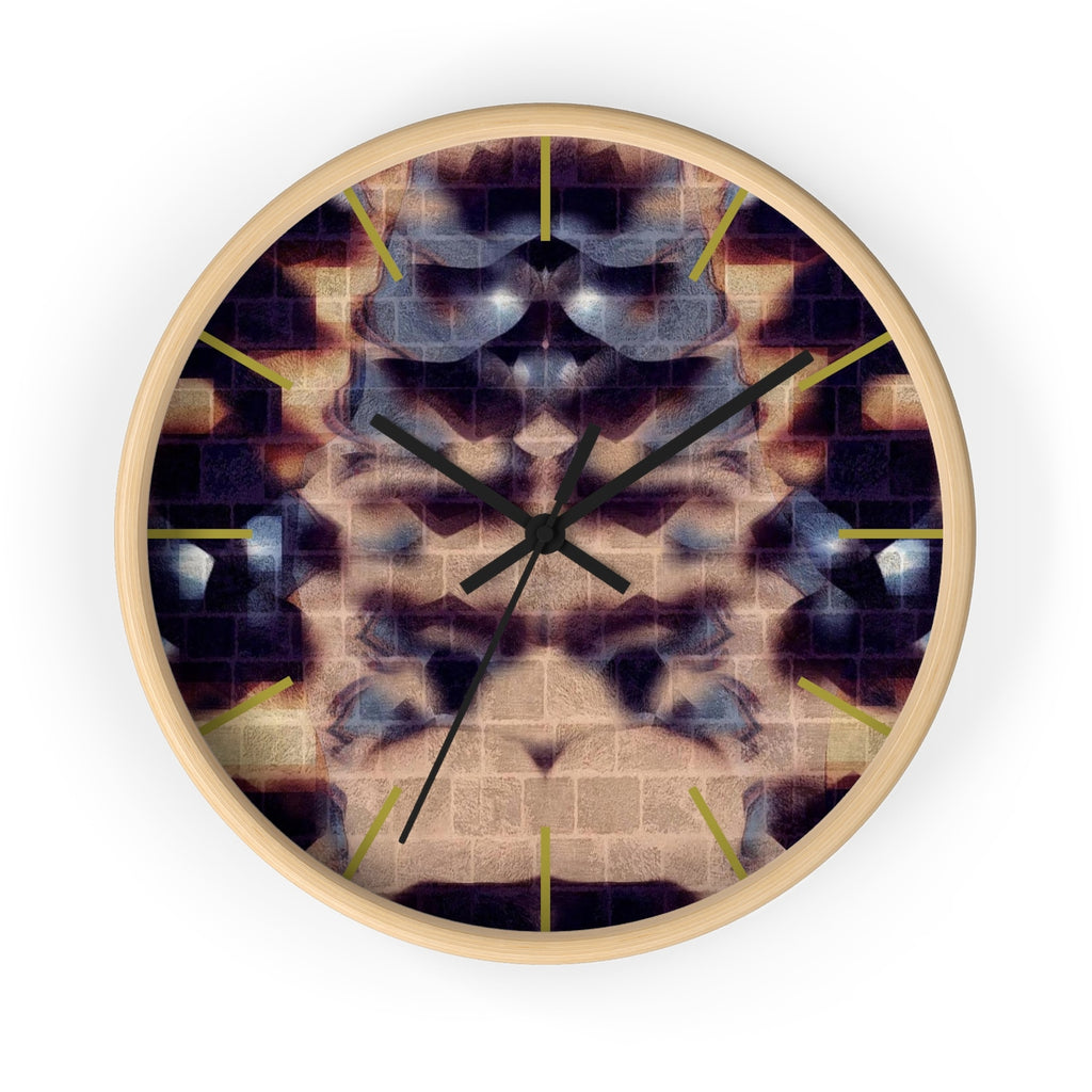 Wall Clock - Reefer | A Time Piece - Designed by @remlor - Remlor Art