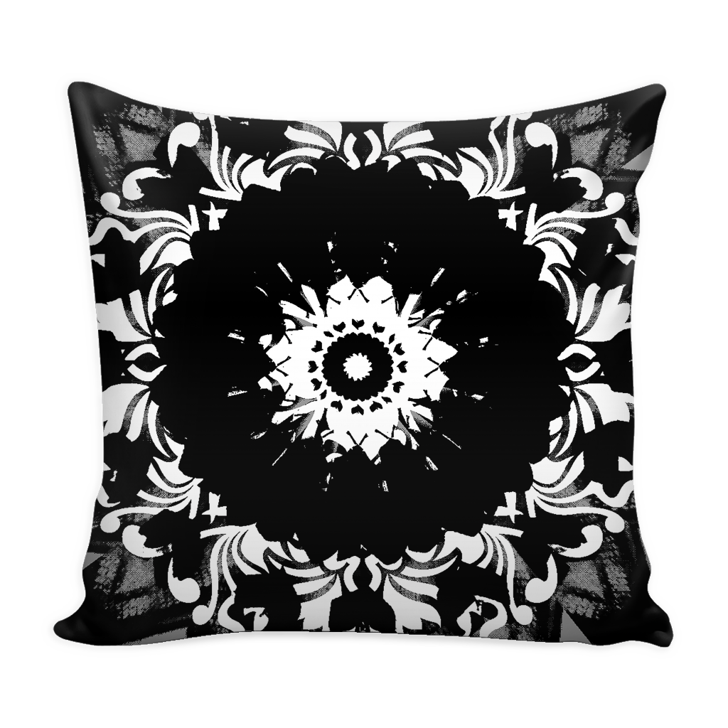 Pillow Cover - Favorite Colour has Blew | A Pattern Designed by @remlor - Remlor Art