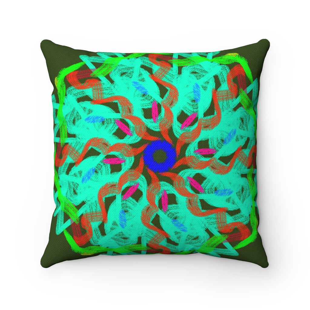 Spun Polyester Square Pillow - Designed by @remlor - Remlor Art