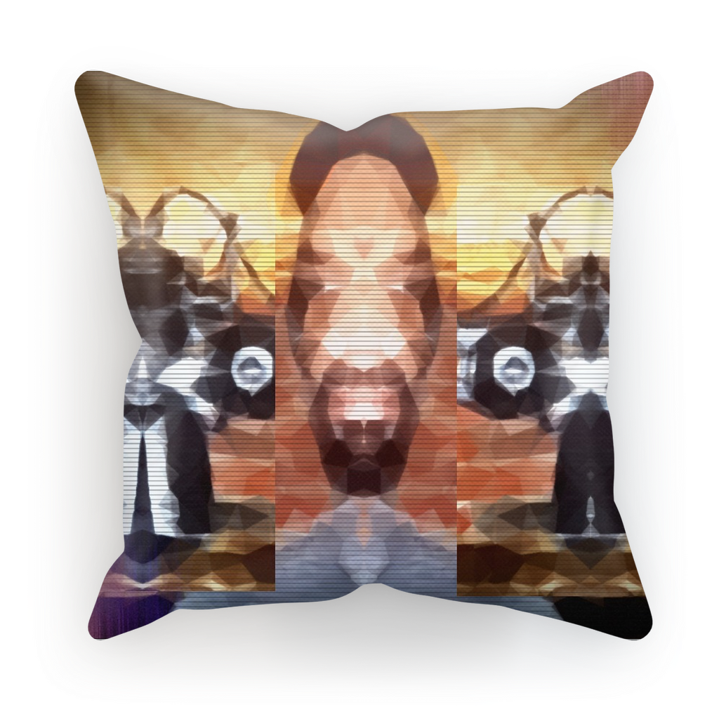 Sublimation Cushion Cover - Realities Distorted Truths | A Pillowcase - Designed by @remlor - Remlor Art