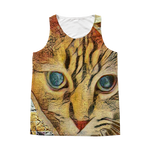 Abstract-Arphaxad The Cat - All Over Printed Tank Top - Remlor Art