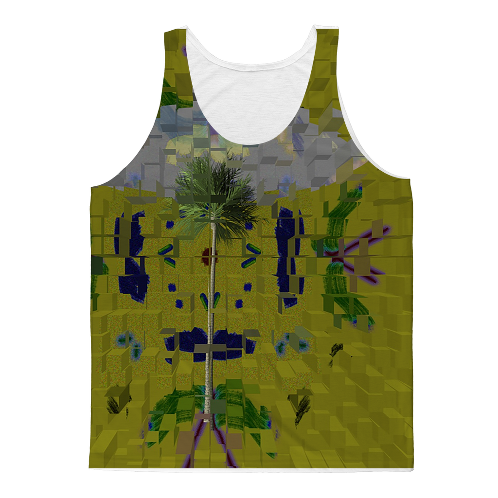 a matter of time Classic Sublimation Adult Tank Top - Remlor Art