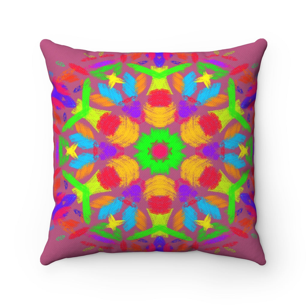 Spun Polyester Square Pillow - Even | Designed by @remlor - Remlor Art