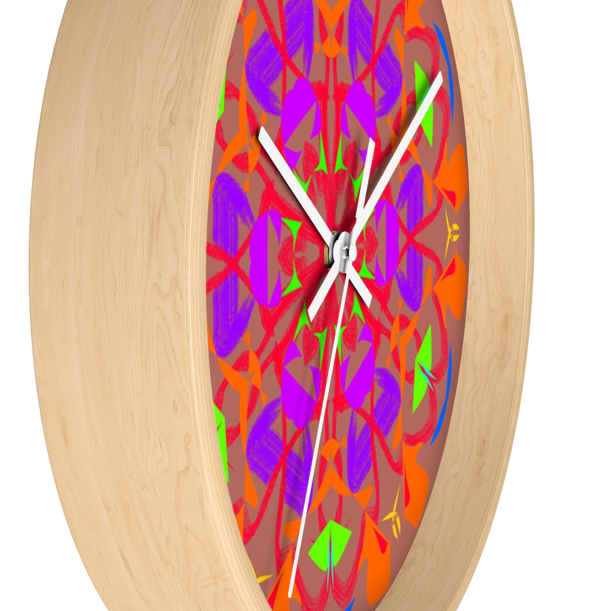 Wall clock - Hut Charged | Designed by @remlor