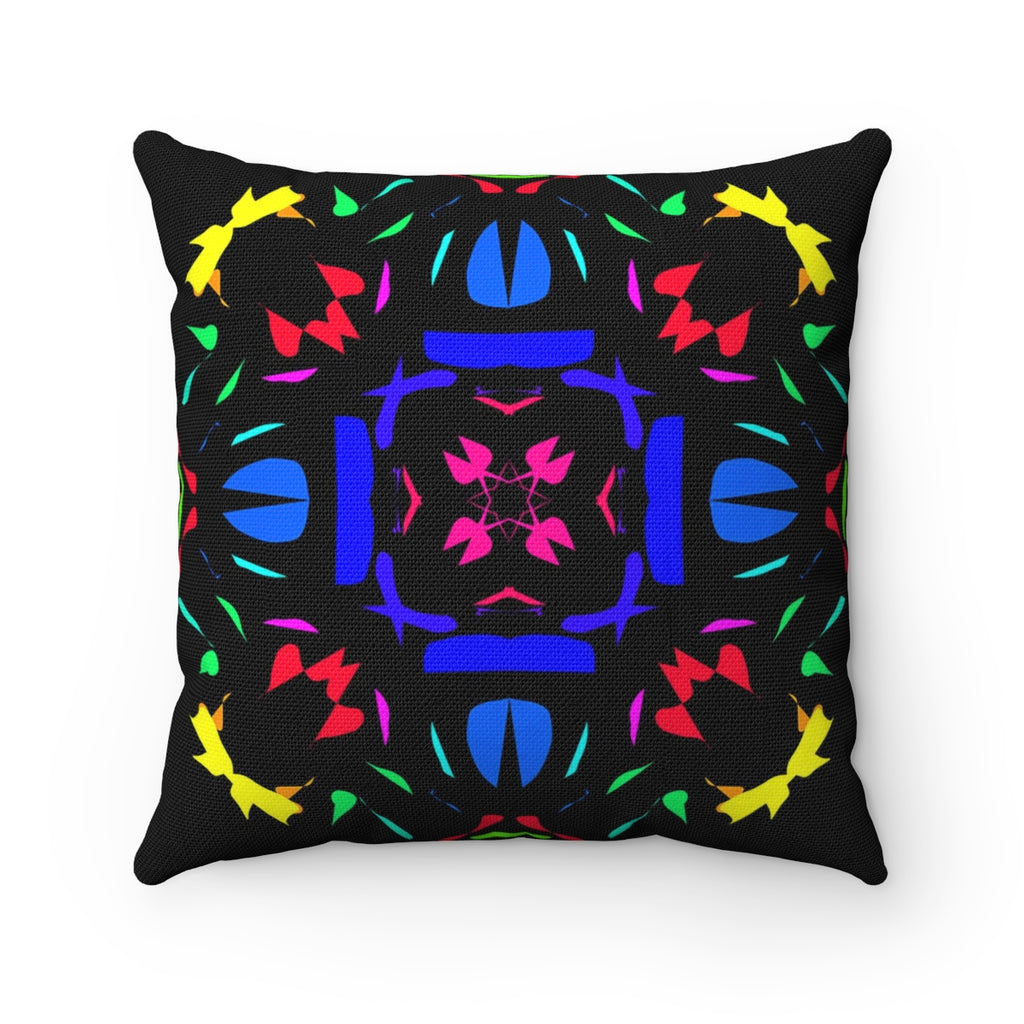 Spun Polyester Square Pillow - The  Knetting | Designed by @remlor - Remlor Art
